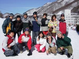 スノーパラダイス参加者たち